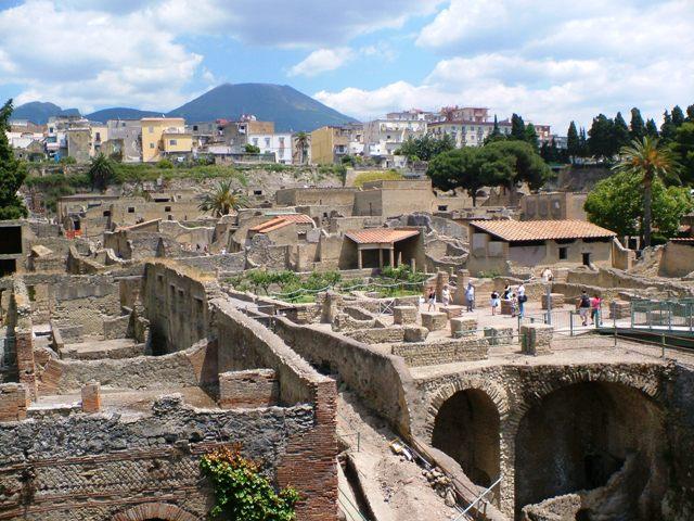 Al MAV si rivive l'eruzione del Vesuvio